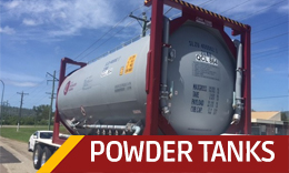 CS Powder Tank