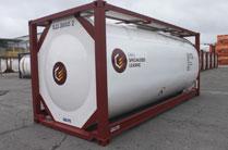 Uninsulated baffle tank
